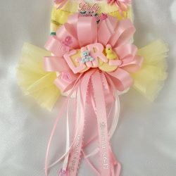 Diaper Corsage-Girl Sign
