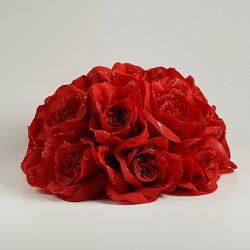 Red Roses Cake Topper