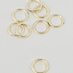 Gold Rings Charms