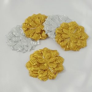 Gold or Silver Carnation Flower Capia Base