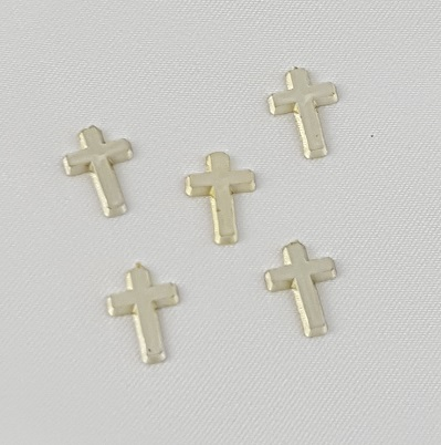 Small Gold Cross Charms