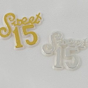 Sweet 15 Charms