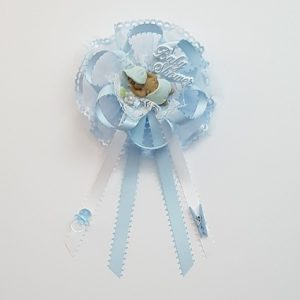 Baby Shower Corsage - African American Baby boy