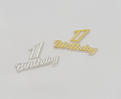 # 1 Birthday Charms