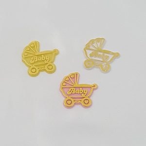 Baby Carriage Charms