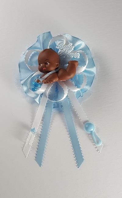 Baby Shower Corsage African American Kewpie Baby Boy R R Party