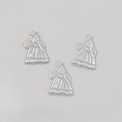 Bride and Groom Charms