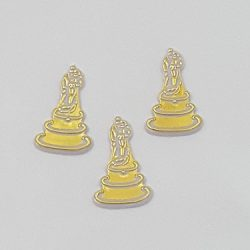 Bride and Groom on Cake Charms