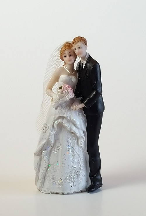 Love Wedding Couple Figurine