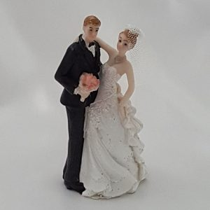 Sweet Wedding Couple Figurine
