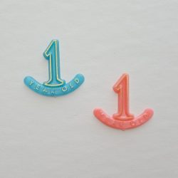 # 1 Year Old Charms
