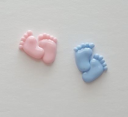 Baby Footprint Charms