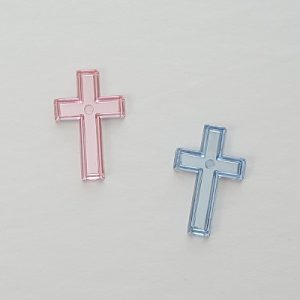Cross Acrylic Charms