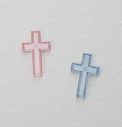 Cross Acrylic Charms