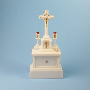 Cross Altar Cake Decoration
