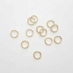 Gold Ring Charms in Bulk